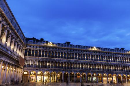 vecchie: St Marks Square - Piazza San Marco in Venice. Venice, Veneto, Italy.
