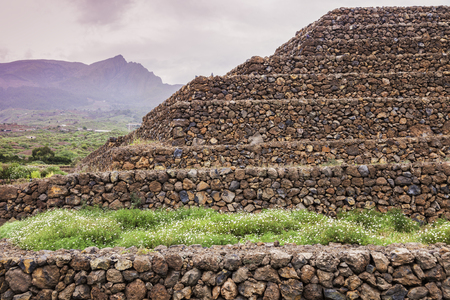 Pyramids of Guimar. Tenerife, Canary Islands, Spain.