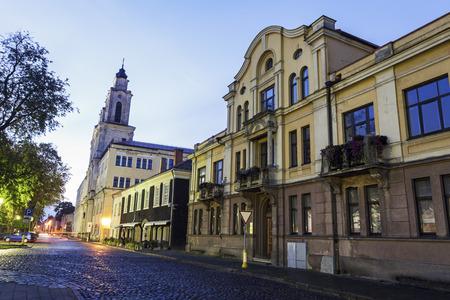 Church of St. Francis Xavier in Kaunas. Kaunas, Lithuania. Reklamní fotografie
