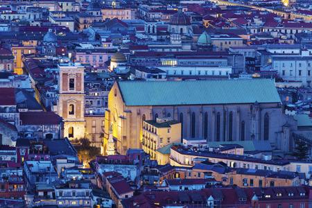 Basilica of Santa Chiara in Naples. Naples, Campania, Italy.
