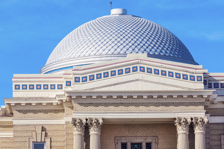 city and county building: Lake County, Minnesota courthouse. Two Harbors, Minnesota, USA.