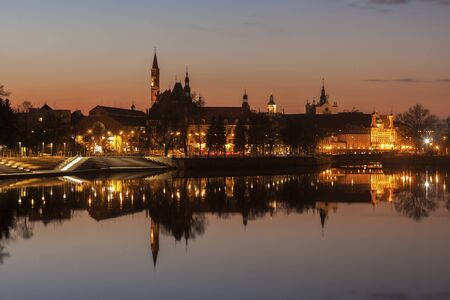 Wroclaw, Lower Silesian, Poland. Wroclaw, Lower Silesian, Poland. Stock Photo