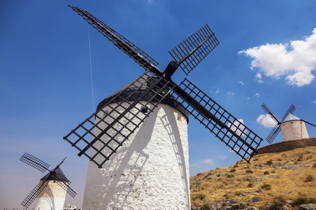 mancha: Windmills of Consuegra. Consuegra, Castile-La Mancha, Spain.