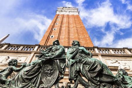 procuratie: St Marks Campanile in Venice. Venice, Veneto, Italy