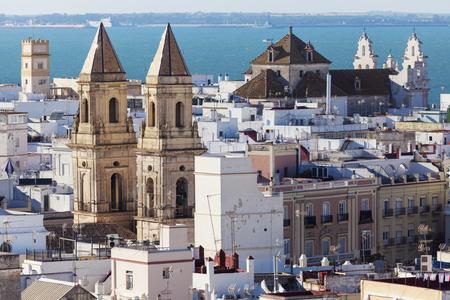 カディスでサン アントニオ教会。カディス、アンダルシア、スペイン。