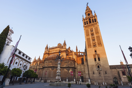 seville: Seville Cathedral (Cathedral of Saint Mary of the See). Seville, Andalusia, Spain.