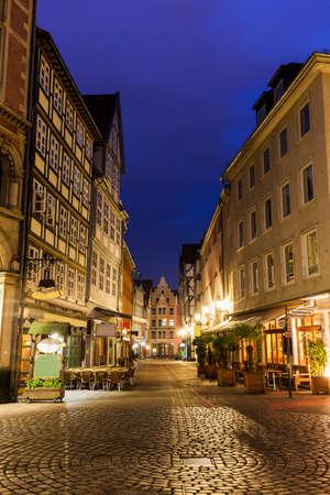 Old architecutre of Hanover. Hanover, Lower Saxony, Germany.