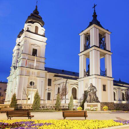 Dreifaltigkeitskirche in Mlawa. Mlawa, Masowien, Polen. Standard-Bild - 84238696