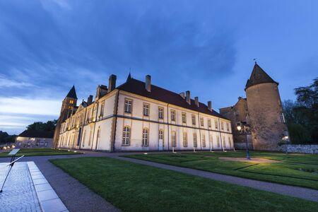 Basilica of Paray-le-Monial. Paray-le-Monial, Bourgogne-Franche-Comte, France.