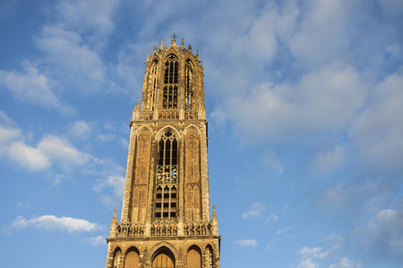 Dom Tower of Utrecht. Utrecht, South Holland, Netherlands. Reklamní fotografie
