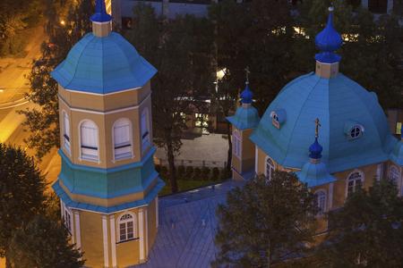 Riga Orthodox Church of Annunciation of St. Virgin. Riga, Latvia 版權商用圖片