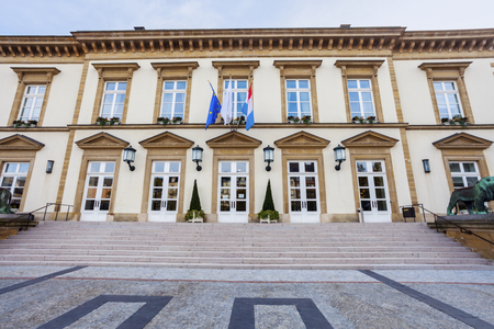 City Hall of Luxembourg City. Luxembourg City, Luxembourg.