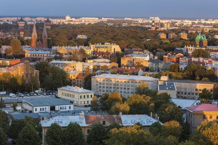 Panorama of Riga. Riga, Latvia