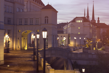 Old architecture of Luxembourg City. Luxembourg City, Luxembourg.