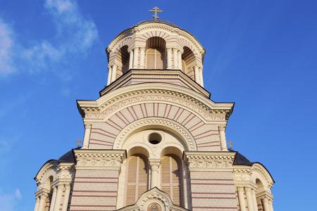 Riga Nativity of Christ Orthodox Cathedral. Riga, Latvia.