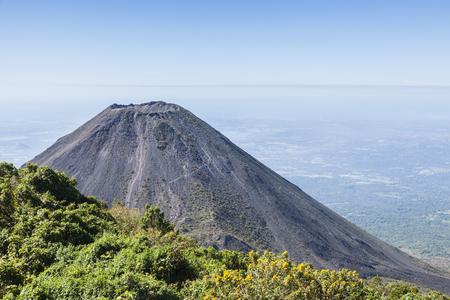 Izalco Volcano in Cerro Verde National Park. Santa Ana, El Salvador.