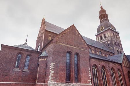 Riga Cathedral in the city center. Riga, Latvia