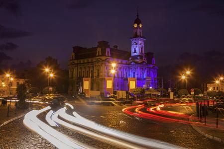 Nowy Sacz City Hall. Nowy Sacz, Lesser Poland, Poland.