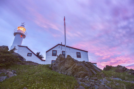 Lobster Cove Head Lighthouse. Newfoundland and Labrador, Canada.