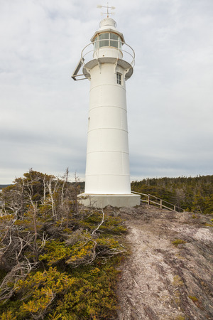 King Cove Head Lighthouse. Newfoundland and Labrador, Canada.