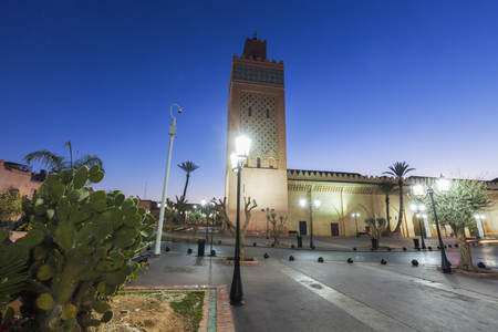 Kasbah Mosque in Marrakesh. Marrakesh, Marrakesh-Safi, Morocco. Standard-Bild - 116952825