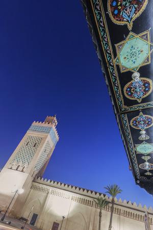 Kasbah Mosque in Marrakesh. Marrakesh, Marrakesh-Safi, Morocco. Standard-Bild - 116952810