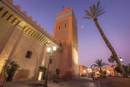 Kasbah Mosque in Marrakesh. Marrakesh, Marrakesh-Safi, Morocco. Standard-Bild - 118717244