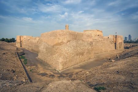 Bahrain Fort - Qalat al-Bahrain in Manama. Manama, Bahrain.