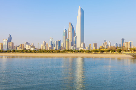 Architecture of Kuwait City. Kuwait City, Kuwait.
