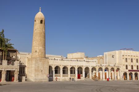 Souq Waqif in Doha. Doha, Ad-Dawhah, Qatar.