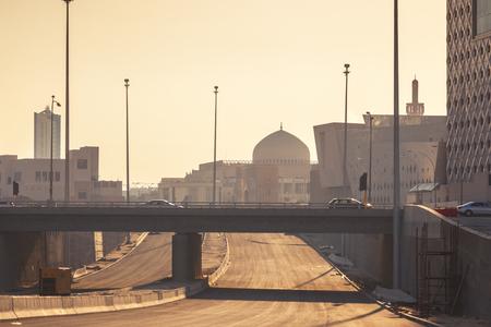 Grand Mosque in Kuwait City. Kuwait City, Kuwait. Reklamní fotografie