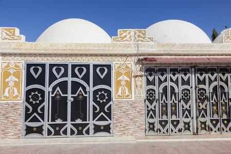 Jewelry souk in Laayoune. Laayoune, Western Sahara, Morocco.