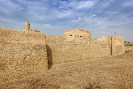 Bahrain Fort in Manama. Manama, Bahrain.
