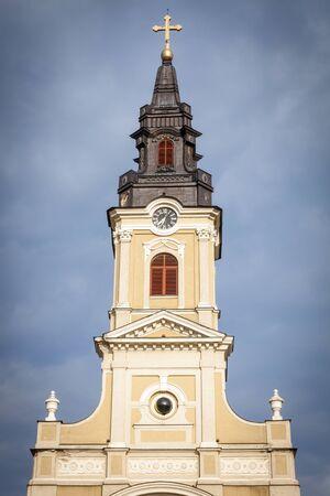 Moon Church in Oradea. Oradea, Bihor County, Romania.