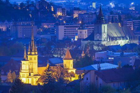 St. Nicholas Church in Brasov. Brasov, Brasov County, Romania.
