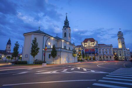 St. Ladislau Church in Oradea. Oradea, Bihor County, Romania.