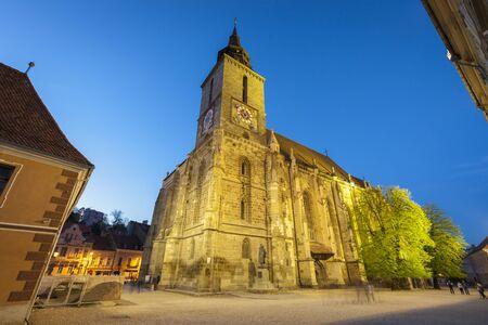 Black Church in Brasov. Brasov, Brasov County, Romania.