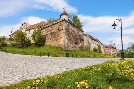 Brasov fortress. Brasov, Brasov County, Romania. Redactioneel