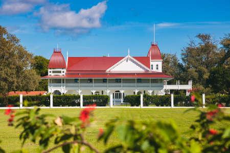 Royal Palace, Tonga. Nuku'Alofa, Tongatapu, Tonga.