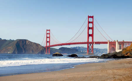 San Francisco Golden Gate Bridge Stock Photo - 6830373