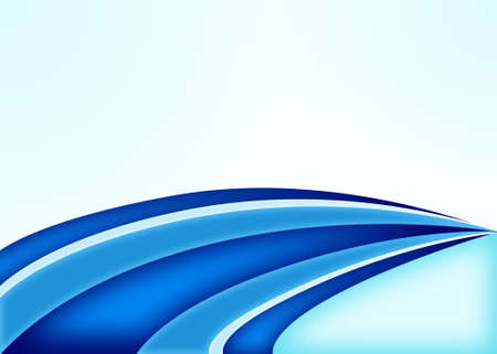 Blue Abstract Background Pattern Wallpaper Design