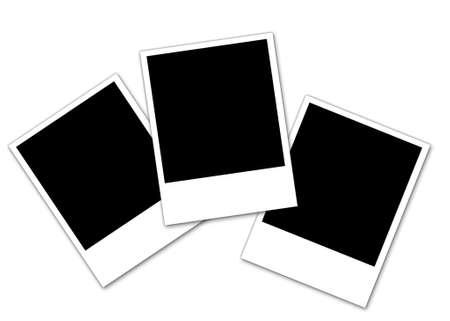 Three  Photos on white background