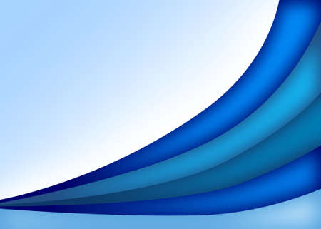 Soothing Blue and Aqua Curves Background Pattern Stock Photo - 6927231