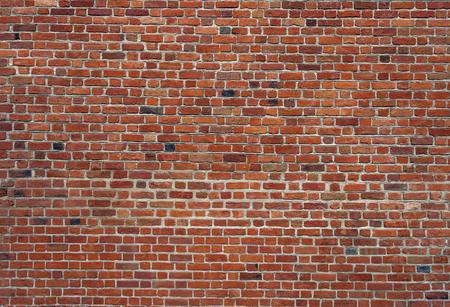 paredes de ladrillos: Fondo de la pared de ladrillo antiguo de la vendimia Foto de archivo