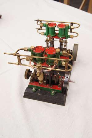 maqueta de una m�quina de vapor Foto de archivo - 18484244