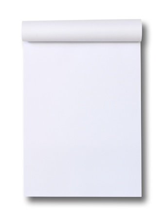 blank Paper tablet  photo