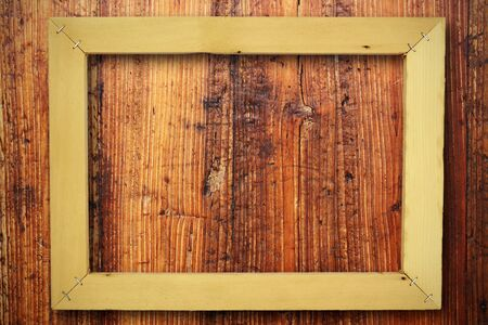 wooden frame background  photo