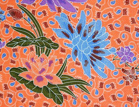 pattern on the thai cloth Stock Photo - 10263028