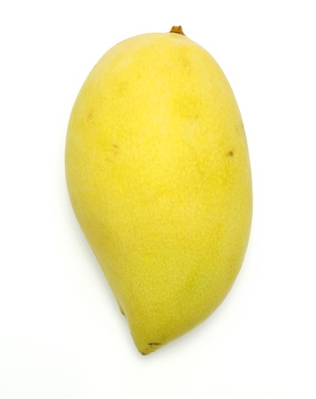 Thai yellow mango, vertical  photo