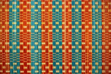 rattan mat: Texture of mat for background